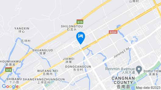 Ramada Plaza Wyndham Wenzhou Cangnan Map