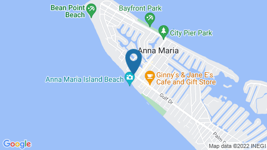 Sandy Toes and Feet Retreat Map