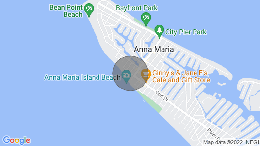 Sandy Toes and Feet Retreat by AMI Locals Map