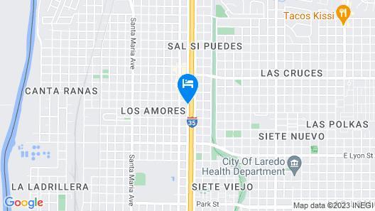 Best Western Plus Laredo Inn & Suites Map