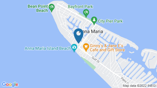 Mermaids Watch 4 Bedroom Home Map