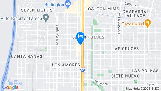 La Quinta Inn by Wyndham Laredo I-35 Map
