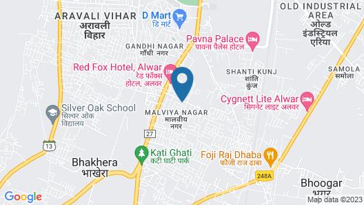 OYO 4773 Atithi Inn Map