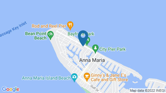 Shore Is Paradise 4 Bedroom Home Map