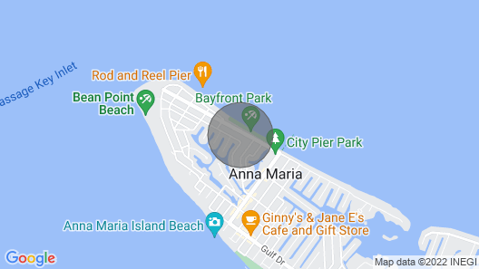 Shore is Paradise in Anna Maria Map