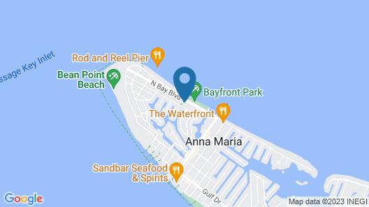 Sweet Melissa's Beach House Map