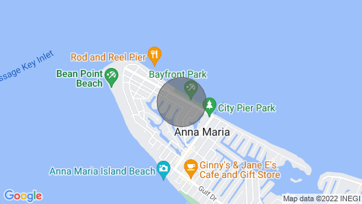 Sweet Melissa's Beach House by AMI Locals Map