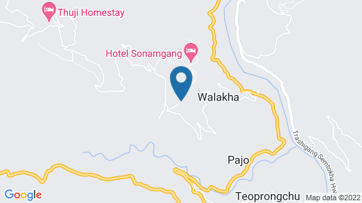 Dhensa Boutique Resort Map