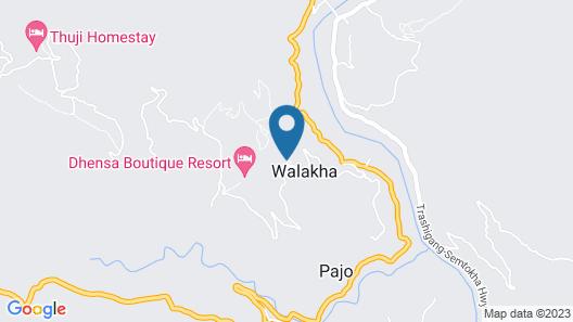 Hotel Zangto Pelri Map
