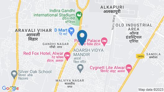 OYO 16437 Hotel Alwar Inn Map