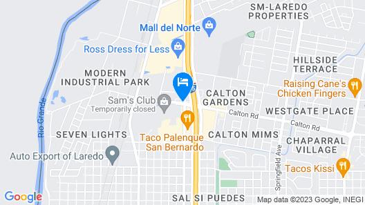 Red Roof Inn Laredo Map