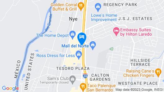 Family Garden Inn & Suites Map