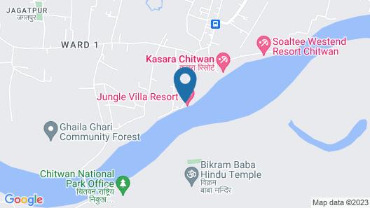 Jungle Villa Resort Map