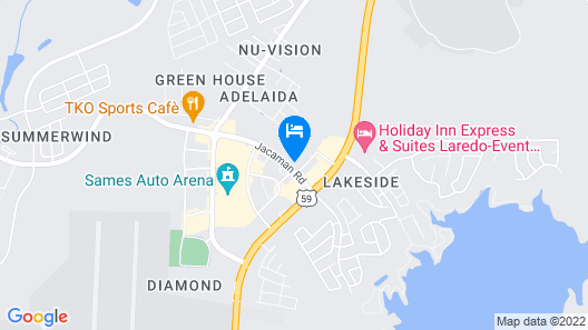 Tru by Hilton Laredo Airport Map
