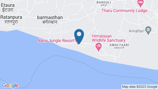 Nana Jungle Resort Map