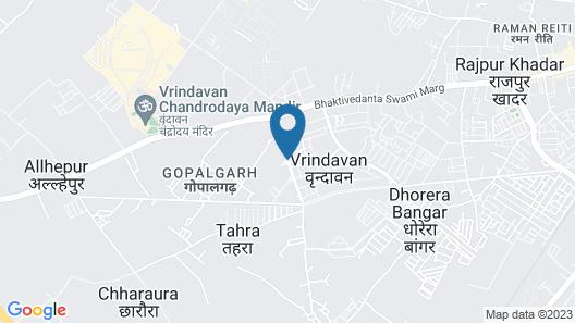 Nidhivan Sarovar Portico Map