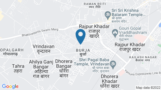 Kadamb Spritual Stay Map