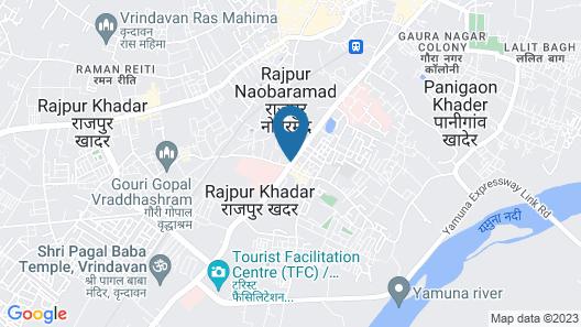 Hotel Basera Brij Bhoomi Map