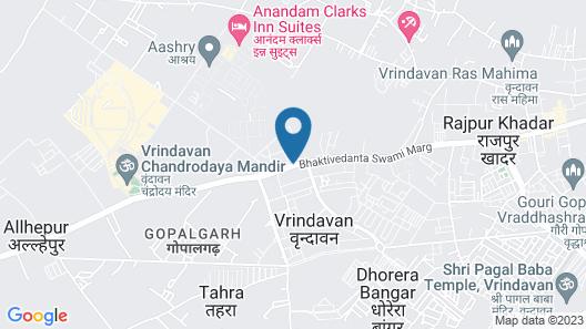 Hotel Santosh Dham Map