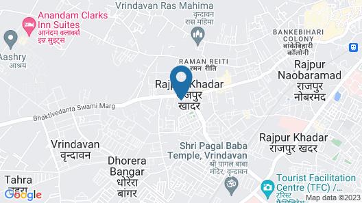 Hotel Shri Radha Nikunj Vrindavan Opposite Prem Mandir Map