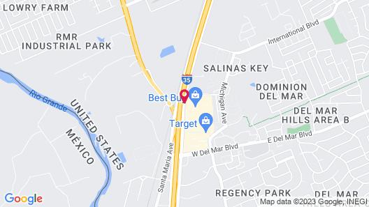 Hampton Inn Laredo Map