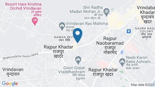 Nikunj Ashram Map