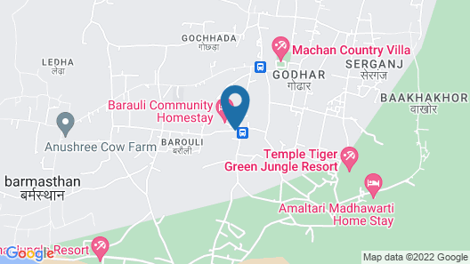 Barauli Community Homestay Map