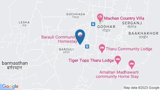 Barauli Paradise Resort Map