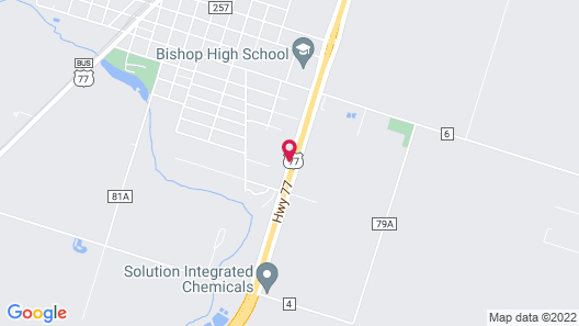 Americas Best Value Inn Bishop Kingsville Map
