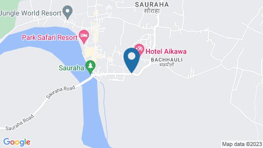 Eden Jungle Resort Map