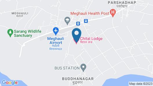 Chital Lodge Map