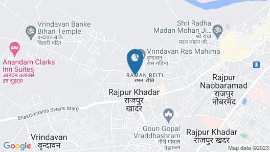 Ananda Krishna Van Map
