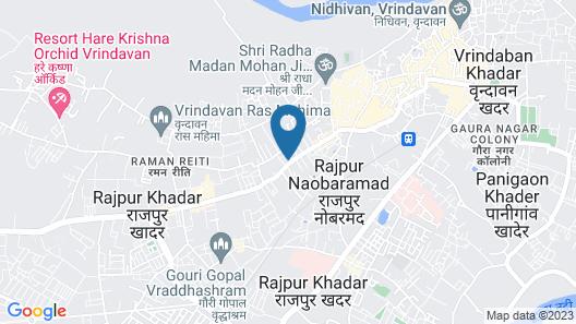 Hotel Krishnam Map