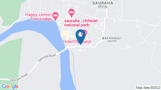 Eco Adventure Resort Map