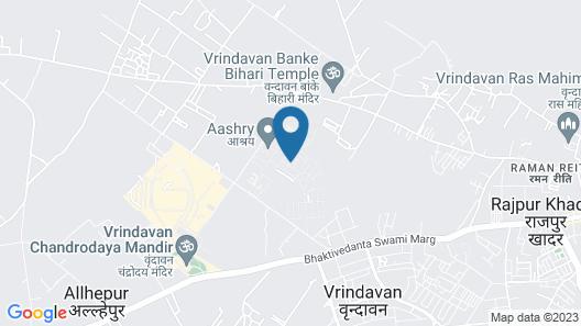 Anandam Clarks Inn Suites Vrindavan Map