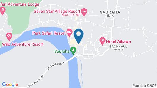 Jungle Safari Resort Map