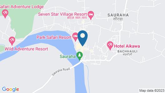Rhino Lodge & Hotel Map