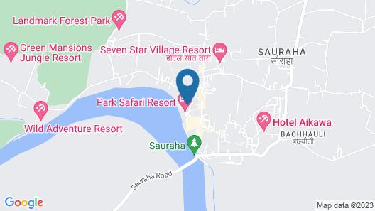 Chitwan Village Resort Map