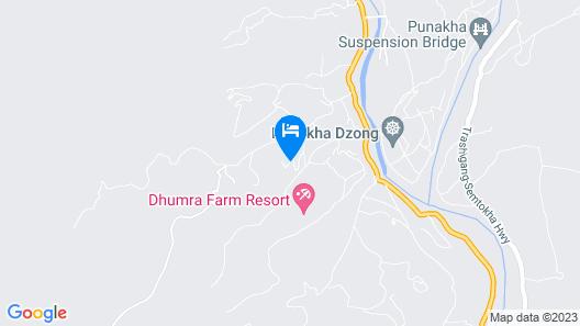 Zhingkham Resort Map