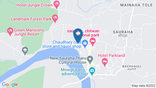 Jungle World Resort Map