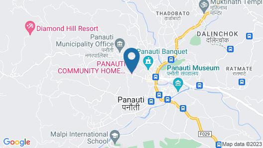 Panauti Community Homestay Map