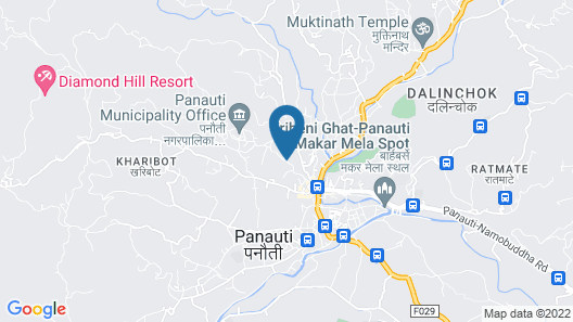 Rauti Homestay Map