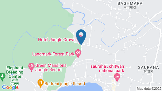Green Park Chitwan Map