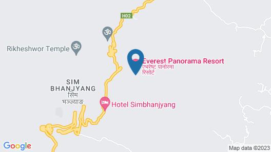 Everest Panorama Resort Map