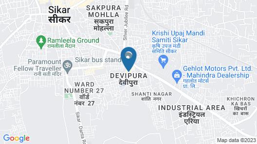 OYO 30243 Hotel Sanwariya Bhagwan Map