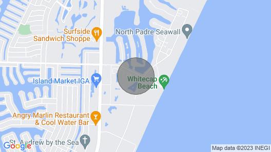 1 BLOCK FROM WHITE CAP BEACH!!!***NORTH PADRE ISLAND*** Map