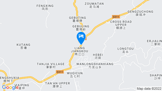 Howard Johnson Hot Spring Resort Wugongshan Map