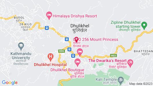 Dhulikhel Lodge Resort Map