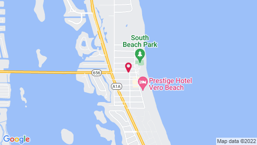 Sea Spray Inn Map