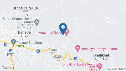 Aagantuk Resort Map